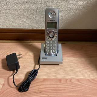 パイオニア(Pioneer)の電話機 コードレス 子機のみpioneer(その他)
