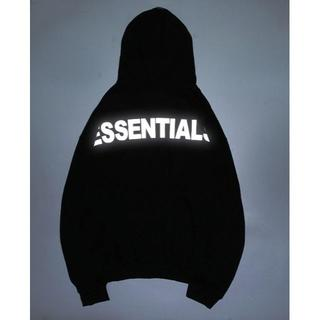 FEAR OF GOD - FOG Essentials 3M Hoodie パーカー ブラック