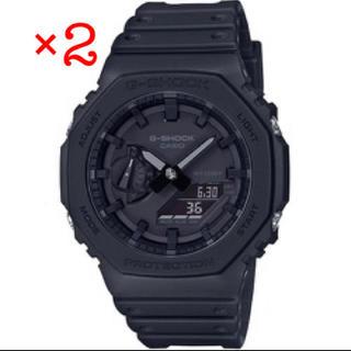 カシオ(CASIO)の 2個 新品 CASIO G-SHOCK GA-2100-1A1JF(腕時計(デジタル))