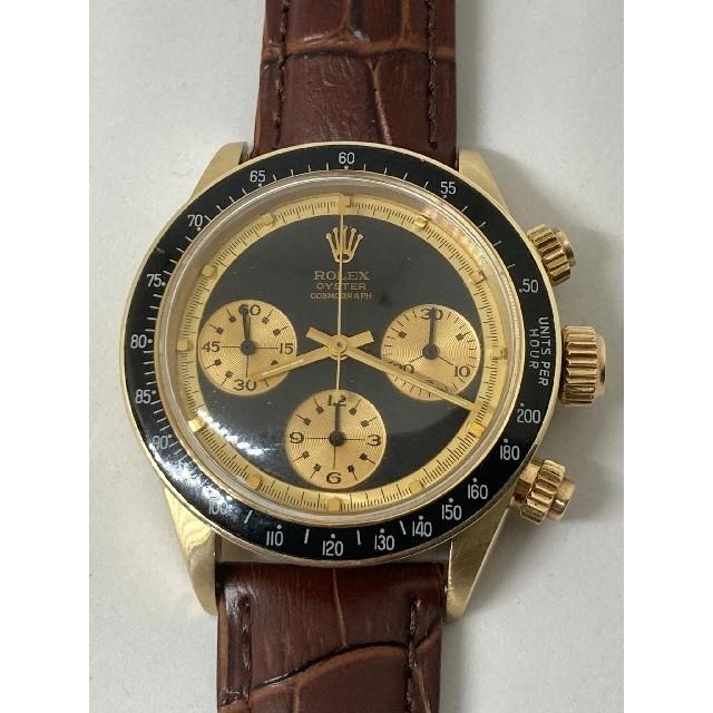 ROLEX(ロレックス)のROLEX ロレックス 6263 黒ポールニューマン 金無垢 2 メンズの時計(腕時計(アナログ))の商品写真