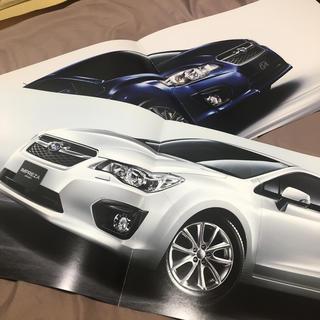 スバル(スバル)のG4 インプレッサスポーツ PR冊子 車 Impreza subaru(カタログ/マニュアル)