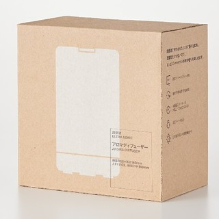 ムジルシリョウヒン(MUJI (無印良品))の◇新品◇ 無印良品 超音波アロマディフューザー/約直径80×高さ140mm(アロマディフューザー)