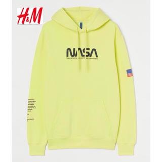 エイチアンドエム(H&M)の新品 安値 H&M × NASA コラボ パーカー L(パーカー)