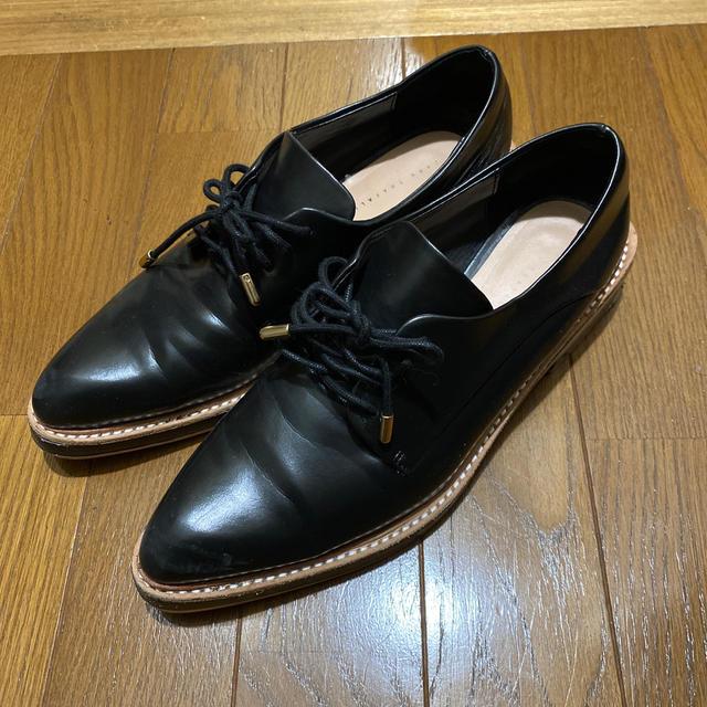ZARA(ザラ)のZARA レースアップシューズ オックスフォードシューズ レディースの靴/シューズ(ローファー/革靴)の商品写真