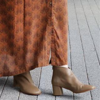 ジャーナルスタンダード(JOURNAL STANDARD)のケロよん様専用❗️MOHI モヒ ショートブーツ(ブーツ)