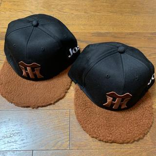 ハンシンタイガース(阪神タイガース)の阪神タイガース 野球帽 キャップ 2個セット(応援グッズ)