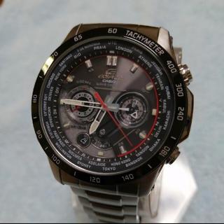 カシオ(CASIO)のカシオ エディフィス電波ソーラー腕時計(腕時計(アナログ))