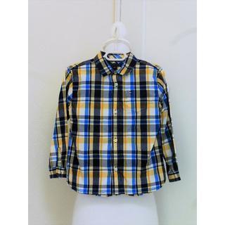 トミーヒルフィガー(TOMMY HILFIGER)のy156❤TOMMY HILFIGER ミックスチェックシャツ 4T❤(ブラウス)