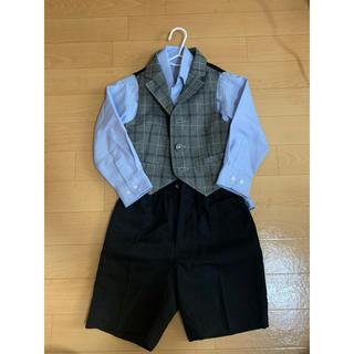 コムサイズム(COMME CA ISM)のフォーマル ワイシャツ セット 100(ドレス/フォーマル)