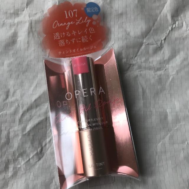 OPERA(オペラ)のcoco様専用♡限定色♡オペラ リップティントN 107 オレンジリリー コスメ/美容のベースメイク/化粧品(口紅)の商品写真