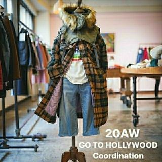 ゴートゥーハリウッド(GO TO HOLLYWOOD)のgotohollywoodリングチェックコート ノベルティセット(コート)