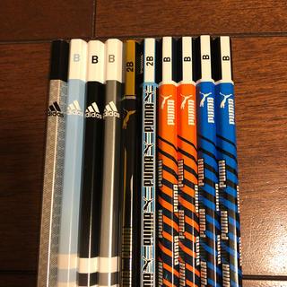 アディダス(adidas)の鉛筆★B 2B  プーマ  アディダス 10本(鉛筆)