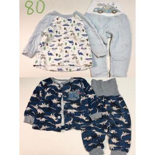 西松屋 - 男の子 パジャマ 2セット 80