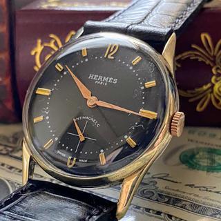 Hermes - OH済【憧れの一品】HERMES ★ エルメス 14KGP アンティーク 腕時計