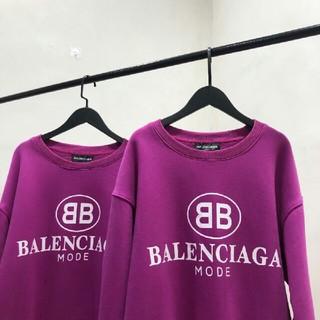 バレンシアガ(Balenciaga)のBALENCIAGA パーカー  ベルベット 男女兼用(パーカー)