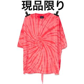 PEACEMINUSONE - PEACEMINUSONE タイダイTシャツ RED#5 タグ切