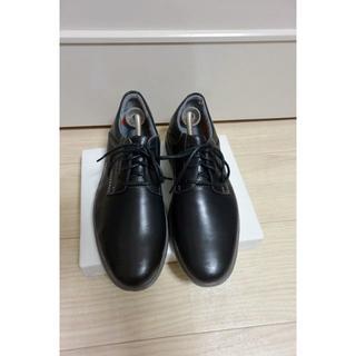 クラークス(Clarks)の新品 Clarks クラークス ビジネスシューズ 黒 25.5cm 超軽量 革(ドレス/ビジネス)