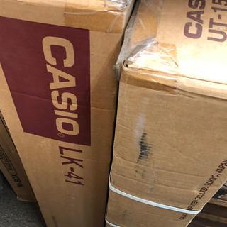 CASIO - 未通電品★説明書要確認★カシオ LK-41 UT-15 セット