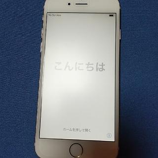 アイフォーン(iPhone)のiPhone6 16GB ゴールド ソフトバンク(携帯電話本体)