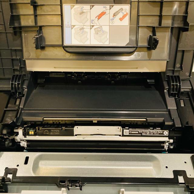 Canon(キヤノン)のCanon レーザープリンター LBP7010C インテリア/住まい/日用品のオフィス用品(OA機器)の商品写真