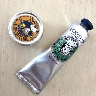 L'OCCITANE - 【新品】ロクシタン × SNOPPY シアバター&シアハンドクリーム