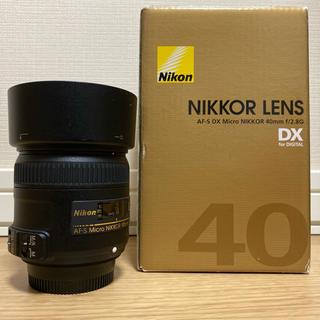 Nikon - 【週末特価】AF-S DX MICRO NIKKOR 40mm f2.8