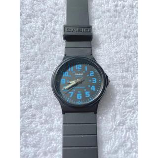 カシオ(CASIO)の【電池あり】CASIO カシオ 腕時計 ブルー ブラック(腕時計(アナログ))