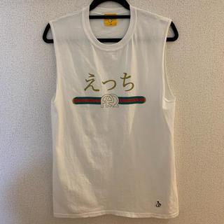 ヴァンキッシュ(VANQUISH)の【激レア】fr2 えっち Tシャツ タンクトップ 白(Tシャツ/カットソー(半袖/袖なし))