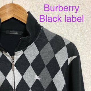 バーバリーブラックレーベル(BURBERRY BLACK LABEL)の40.バーバリー ブラックレーベル カーディガン セーター(カーディガン)