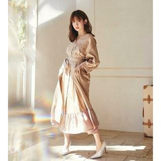 spring shirt dress 【タグ付き】