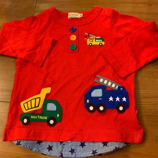 ミキハウス(mikihouse)のミキハウス  ロンT 美品 80センチ(Tシャツ)