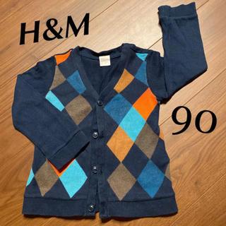 H&M - H&M カーディガン 90