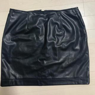 スライ(SLY)のSLY レザースカート(ミニスカート)