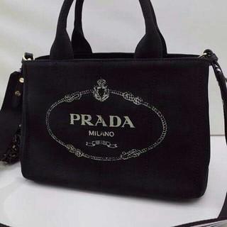 PRADA - 今日お得 极美品!カナパSサイズ トートバッグ