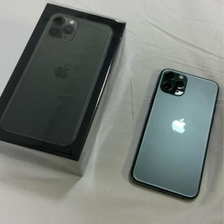 Apple - 美品 iPhone 11 Pro ミッドナイトグリーン 256GB SIMフリー