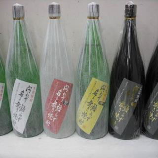 問わず語らず名も無き焼酎 1.8L (白/赤/黄/黒) 4種6本セット (焼酎)
