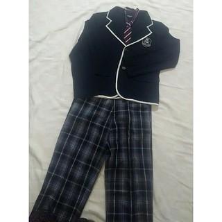 コムサイズム(COMME CA ISM)のコムサイズム 男の子 フォーマル スーツ ジャケット チェック ネクタイ(ドレス/フォーマル)