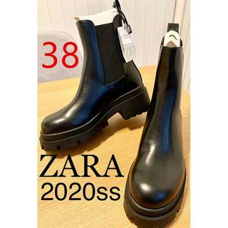 ZARA - ^ラスト1点 Zara サイドゴアブーツ H&M チェルシーブ