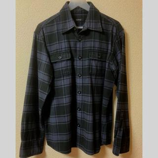 BURBERRY BLACK LABEL - バーバリーブラックレーベル ネルシャツ