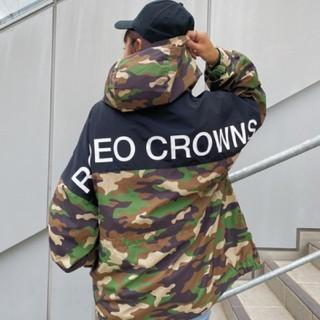 ロデオクラウンズワイドボウル(RODEO CROWNS WIDE BOWL)の新品 迷彩(男女兼用)早い者勝ちノーコメント即決しましょう❗️買いましょう♪(ナイロンジャケット)