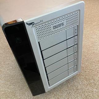 Apple - Pegasus R6 18TB Thunderbolt3変換ケーブル付き