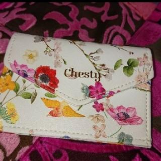 チェスティ(Chesty)のchestyチェスティミニ財布 カードケース コインケース(コインケース/小銭入れ)