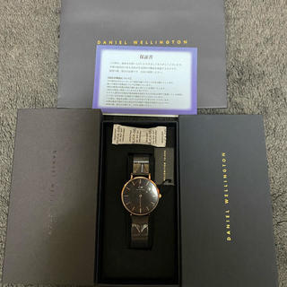 Daniel Wellington - 【32㎜】ダニエル ウェリントン腕時計  DW00100201