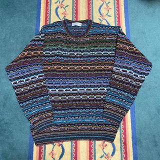 クージー(COOGI)の古着 イタリア製 ニット(ニット/セーター)