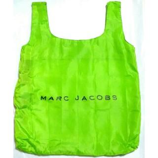 MARC JACOBS - エコバッグ マークジェイコブス 緑 カラビナ付 ポケッタブルバッグ 折り畳み