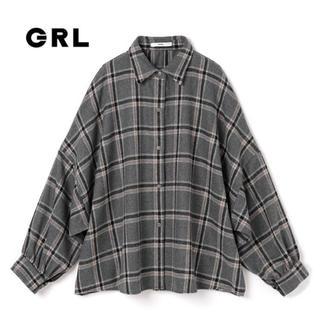 GRL - GRL オーバーチェックシャツジャケット