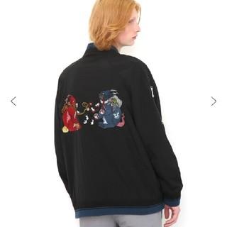 グラニフ(Design Tshirts Store graniph)のグラニフ 石黒亜矢子 阿吽猫 ブルゾン(ブルゾン)