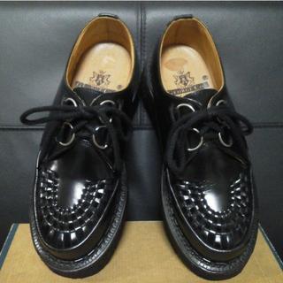 ジョージコックス(GEORGE COX)のGeorgeCox 英国製 ラバーソール UK6 男女可 厚底 3588 清春(ブーツ)