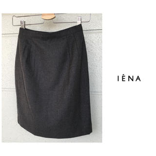 IENA - イエナ IENA TOTALITE  ひざ丈 ウール タイト スカート 日本製