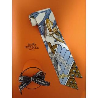 エルメス(Hermes)のお取り置き☆HERMES エルメス完売品ツイリー ツリー・オブ・ソングツイリー(バンダナ/スカーフ)